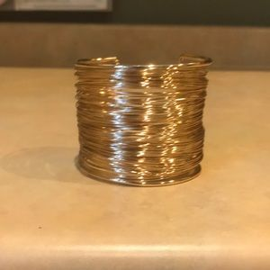 NWOT no tag was present Gold Wire Cuff